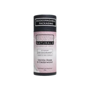 Sensitive Skin Formula – Vanilla Rose & Cedarwood – Eco-Tube
