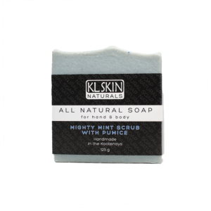 All Natural Soap – Mighty Mint Scrub