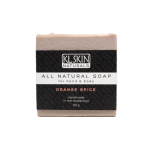 All Natural Soap – Orange Spice