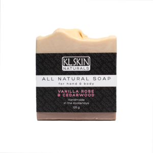 All Natural Soap – Vanilla Rose & Cedarwood