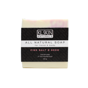 All Natural Soap – Pink Salt & Neem