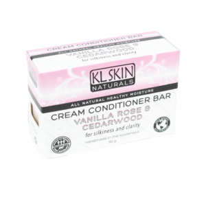 Cream Conditioner Bar – Vanilla Rose & Cedarwood